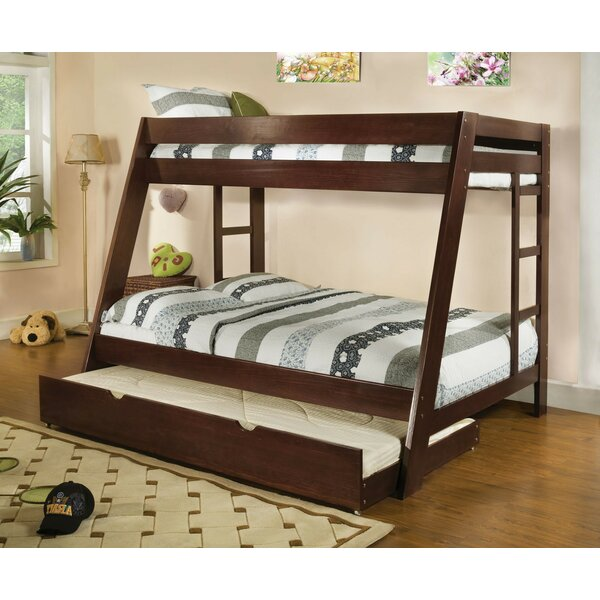 Rehberg Twin Over Full Bunk Bed with Drawers by Harriet Bee