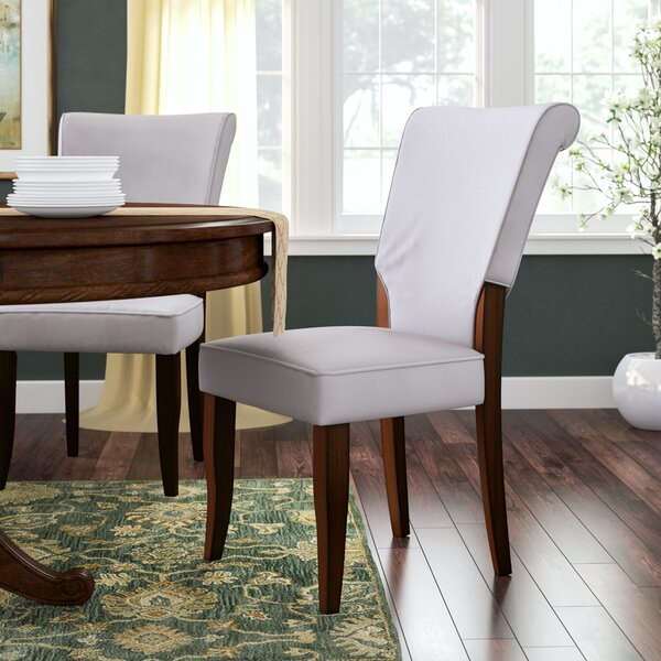 Picard Upholstered Dining Chair (Set of 2) by Charlton Home
