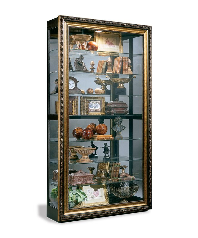 Philip Reinisch Co. Renoir Museum Lighted Curio Cabinet & Reviews ...