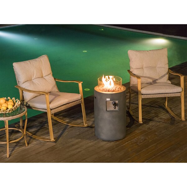 Berenice 5 Piece Rattan Seating Group with Cushions by Rosecliff Heights