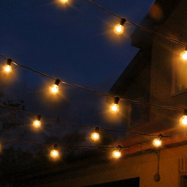 Waterproof 25 Light String Lights by Three Posts