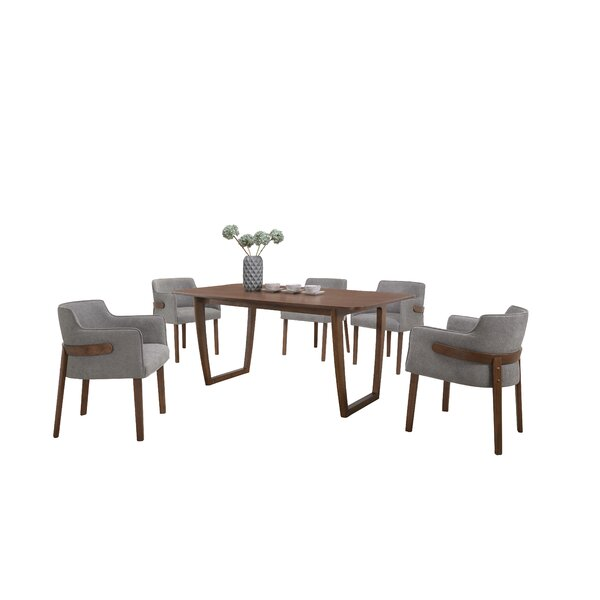 Nelda 7 Piece Dining Set by Brayden Studio