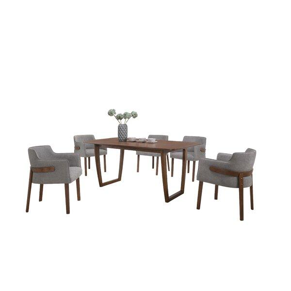 New Design Nelda 7 Piece Dining Set By Brayden Studio 2019 Sale