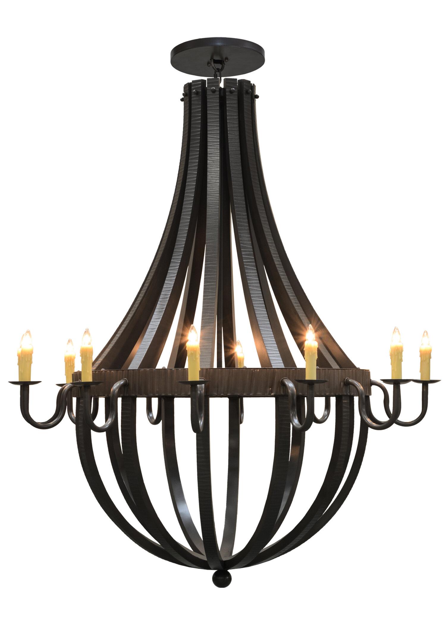 Meyda Tiffany 12 Light Candle Style Empire Chandelier Wayfair
