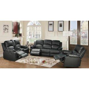Giavanna 3 Piece Reclining Living Room Set by Red Barrel Studio®