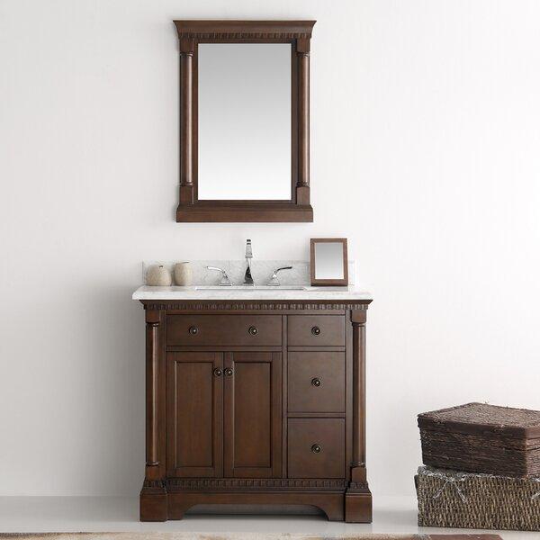 Kingston 37 Single Bathroom Vanity Set with Mirror by Fresca