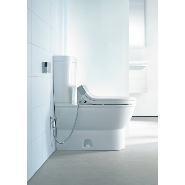 Darling New 1.28 GPF (Water Efficient) Elongated Toilet Bowl (Seat Not Included) by Duravit