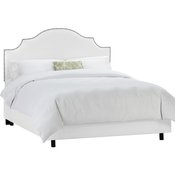 Rosecrans Upholstered Panel Bed by World Menagerie