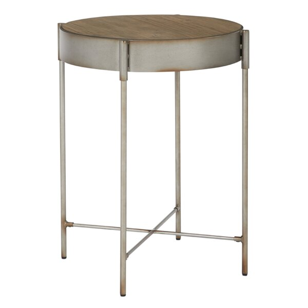 Litwin Accent End Table by Williston Forge