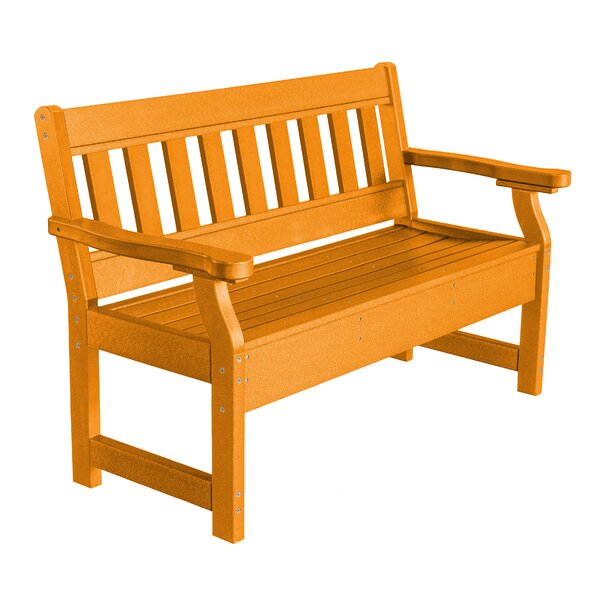 Patricia Poly Lumber Garden Bench by Rosecliff Heights