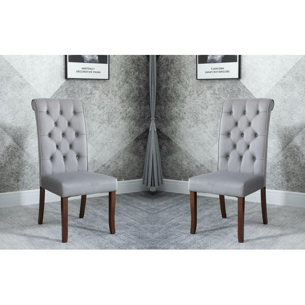 Gregor Upholstered Parsons Chair (Set Of 2) By August Grove