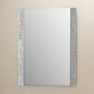 Reviews Longwell Green Frameless Wall Mirror By Wade Logan