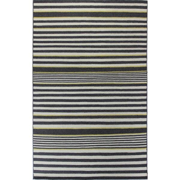 Rockport Ivory & Grey Area Rug by Bashian Rugs