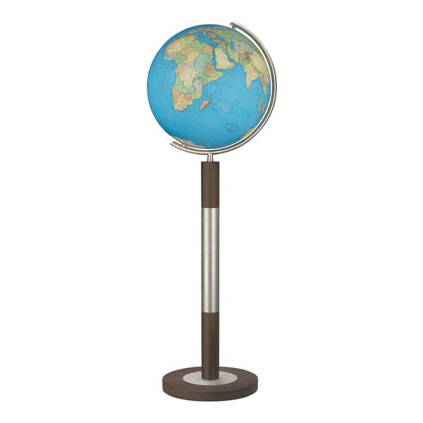 Bremen Duo Illuminated Floor Globe by Columbus Globe
