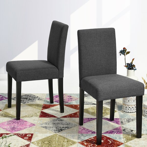Find Hemington Upholstered Dining Chair (Set Of 2) By Winston Porter 2019 Coupon
