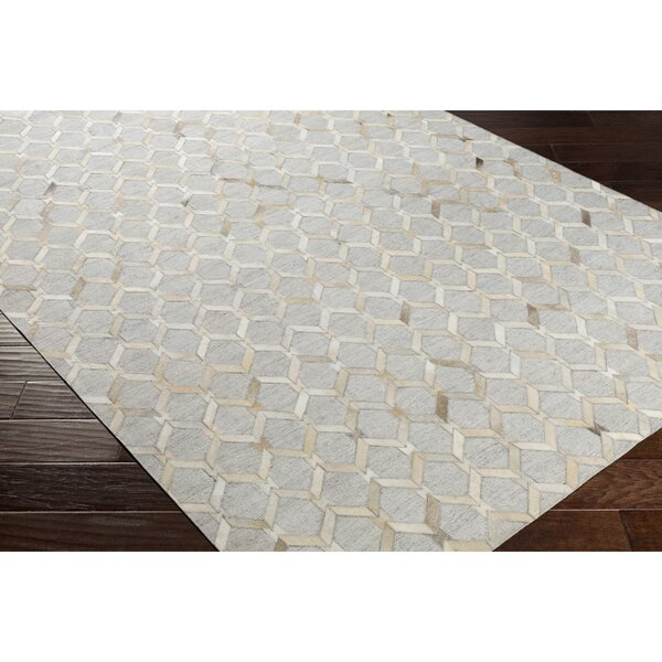 Rexburg Hand-Crafted Brown/Neutral Area Rug by Trent Austin Design