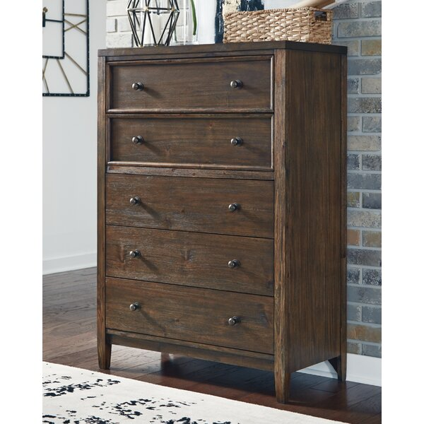 Melania 5 Drawer Chest by Millwood Pines