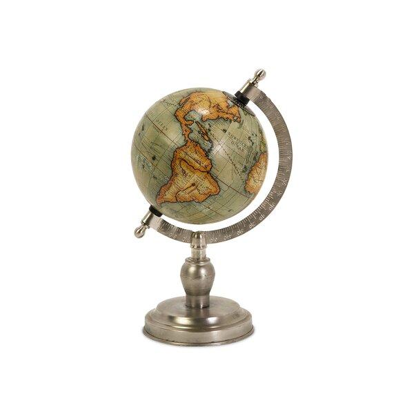 Small Globe by Three Posts