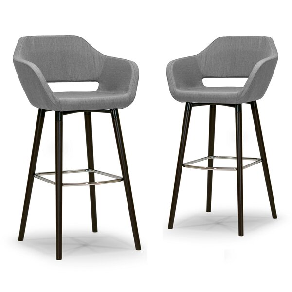 Ade 29.5 Bar Stool (Set of 2) by Glamour Home Decor