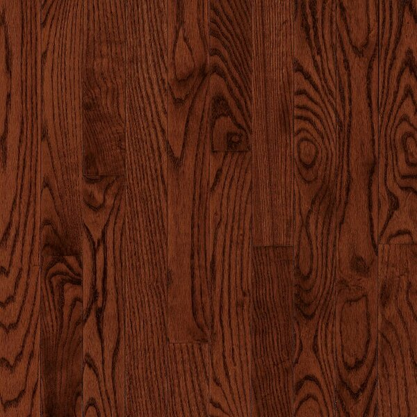 Manchester 3.25 Solid Red Oak Hardwood Flooring in Penny by Bruce Flooring