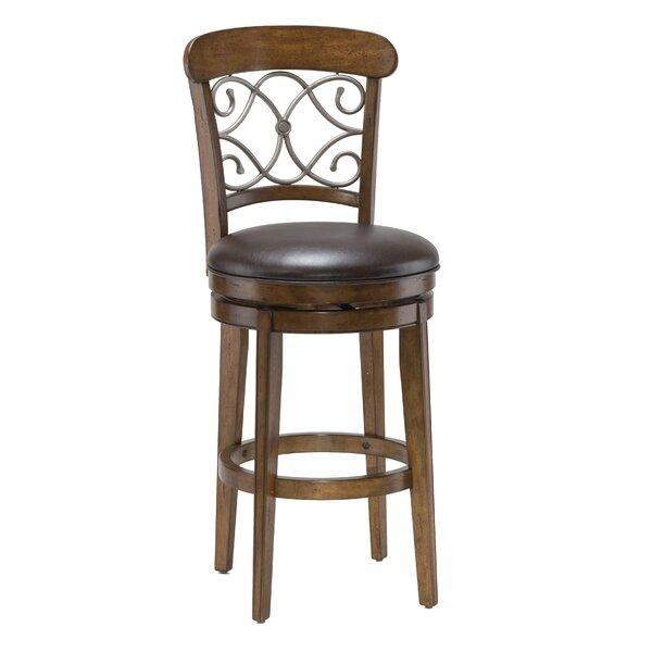 Bergamo 30 Swivel Bar Stool by Hillsdale FurnitureBergamo 30 Swivel Bar Stool by Hillsdale Furniture