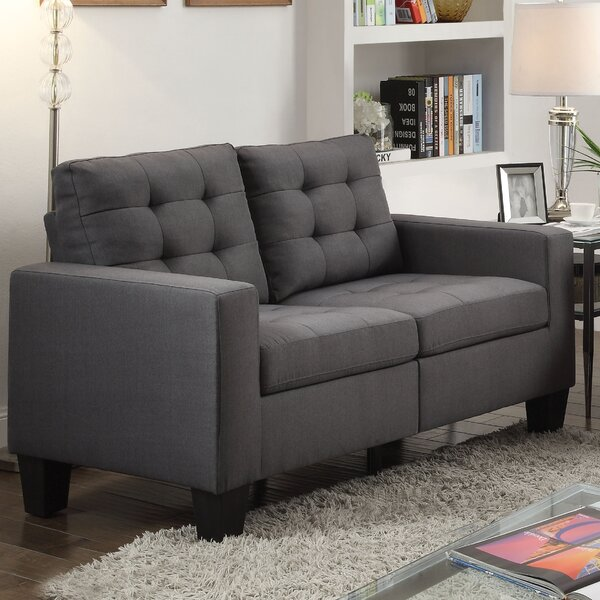 Clem Loveseat by Zipcode Design