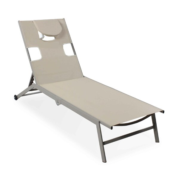 Stroud Reclining Chaise Lounge (Set of 2) by Freeport Park