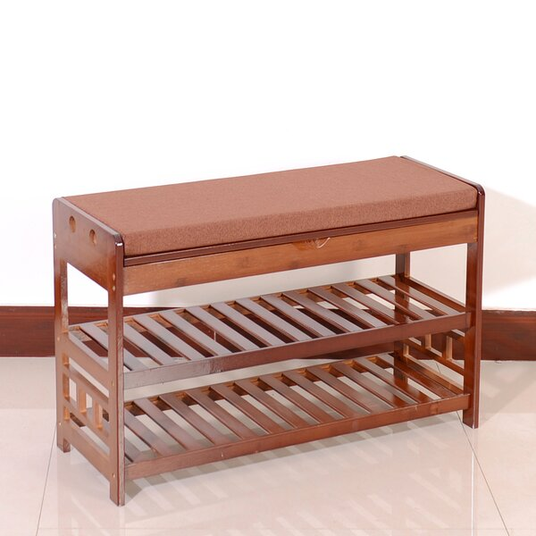 6 Pair Shoes Storage Bench