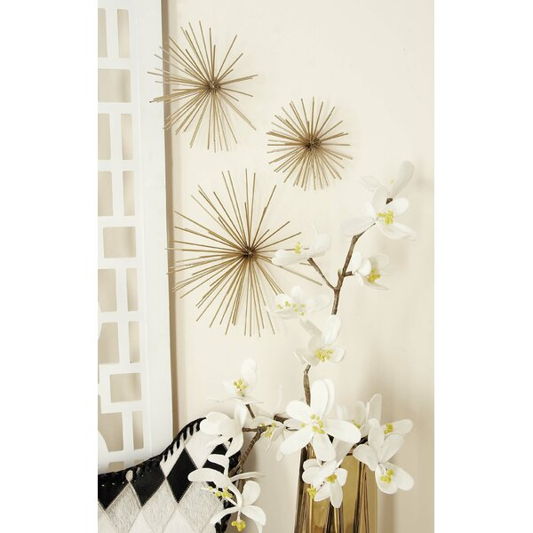 3 Piece Decorative Metal Star Wall Decor Set by Langley Street