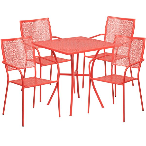 Marcene 5 Piece Dining Set by Zipcode Design