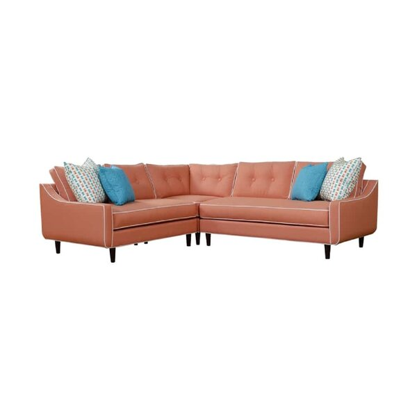 Ronan Symmetrical Sectional by Rosecliff Heights