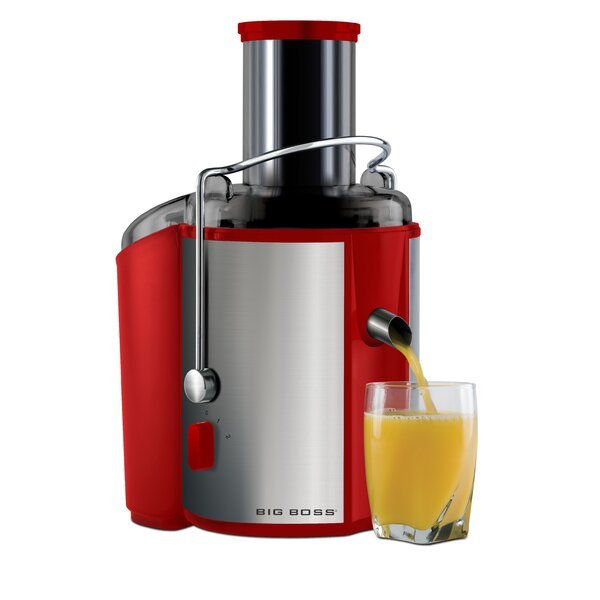Stainless Steel 2-Speed Electric Juicer by Big Boss