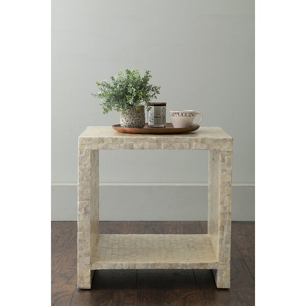 Galiano End Table by Highland Dunes