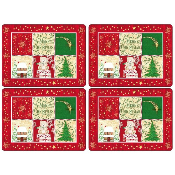 Christmas Blessing 16 Placemat (Set of 4) by Pimpernel