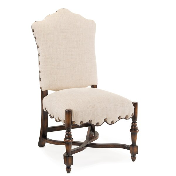French Linen Upholstered Dining Chair (Set of 2) by John-Richard John-Richard