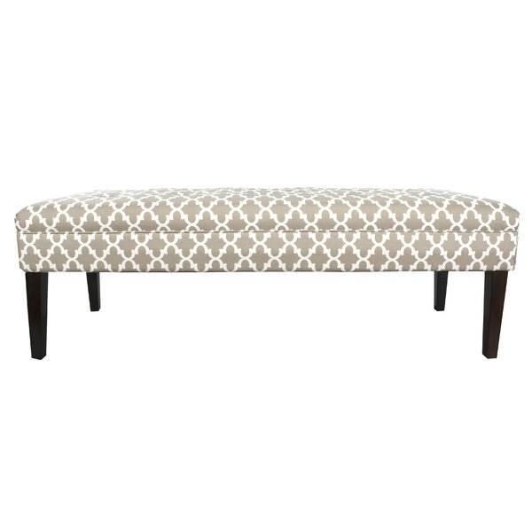 Amora Upholstered Bench by Winston Porter