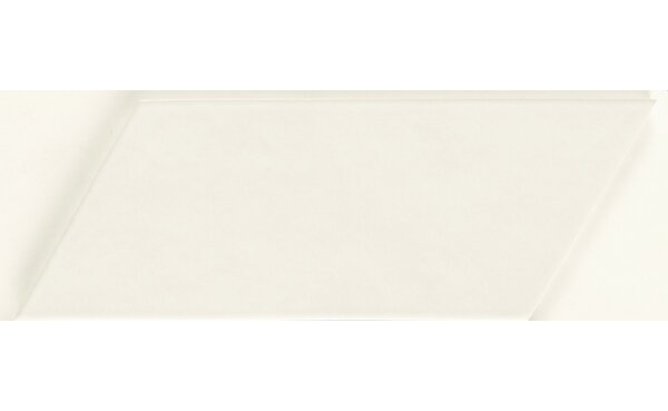 Cement Series 4 x 10 Porcelain Subway Tile in Off-White by Walkon Tile
