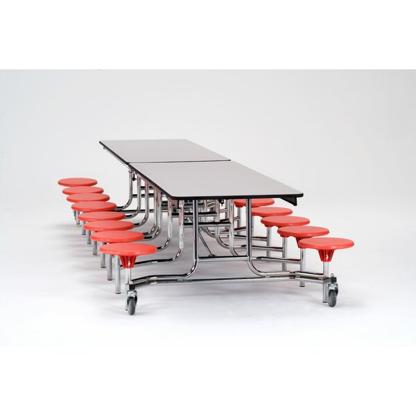 145 x 59 Rectangular Cafeteria Table by National P
