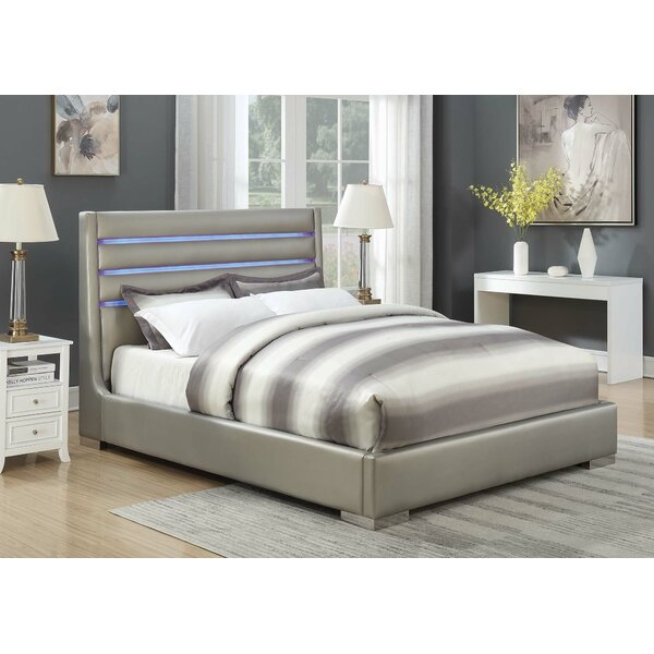 Weakley Twin Panel Bed by Orren Ellis