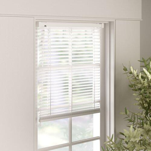 Jalousien Transparent ClearAmbient Größe: 160 L x 70 B cm| Farbe: Weiß | Heimtextilien > Jalousien und Rollos | ClearAmbient