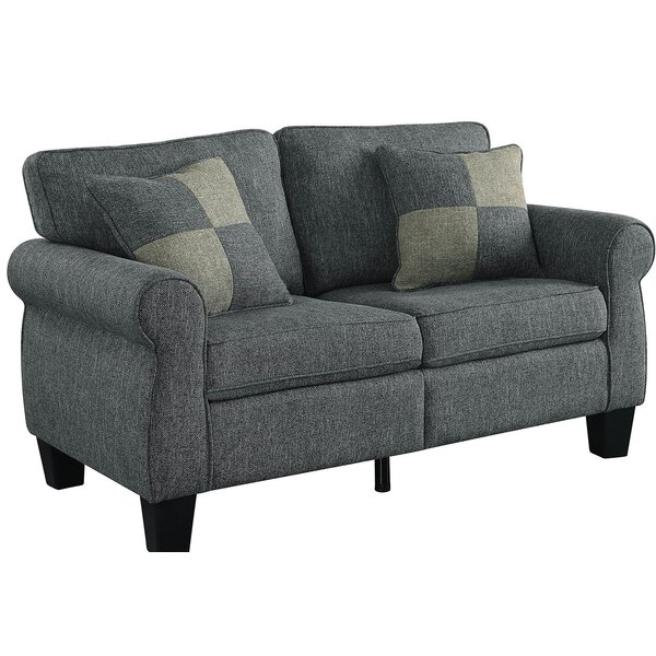The Most Stylish And Classic Hedley Upholstered Loveseat by Charlton Home by Charlton Home
