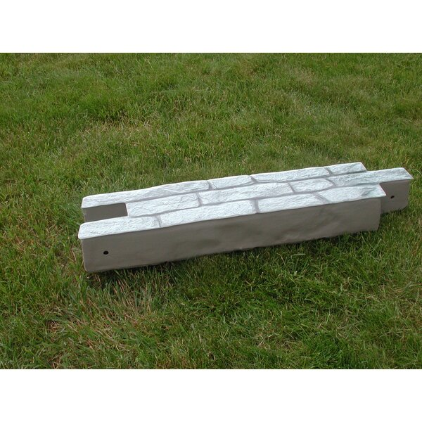 10 in. H x 7.5 ft. W RockLock Edging (Set of 2) by RTS Companies