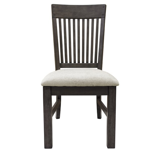 Lemen Farmhouse Style Upholstered Dining Chair (Set of 2) by Gracie Oaks