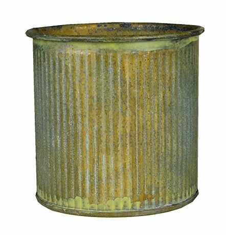 Zinc Pot Planter (Set of 72) by CYS-Excel