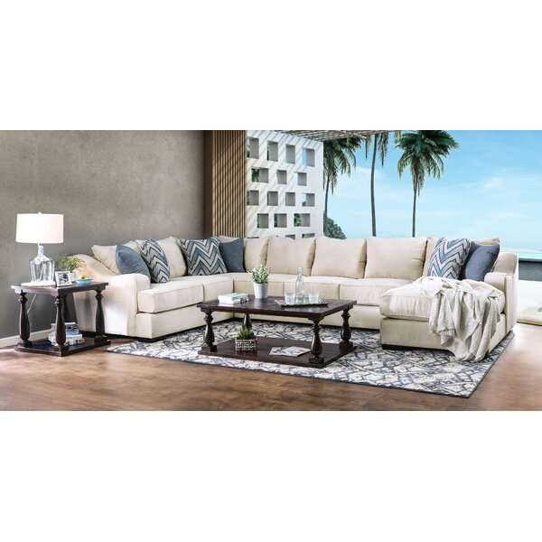 Naylor Sectional by Rosecliff Heights