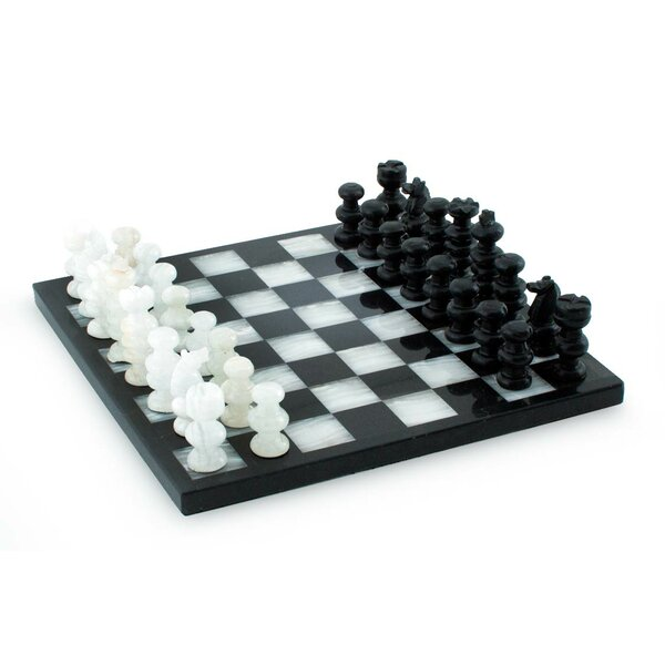 Triumph Onyx and Marble Chess by Novica