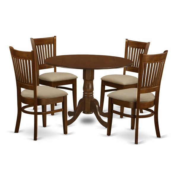 Spruill 5 Piece Dining Set by August Grove August Grove
