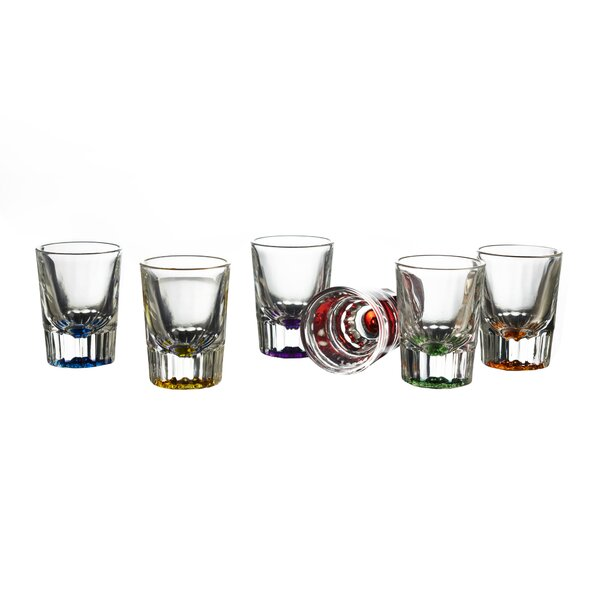 Bryce 2 oz. Shot glass/Shooter (Set of 6) by Style Setter