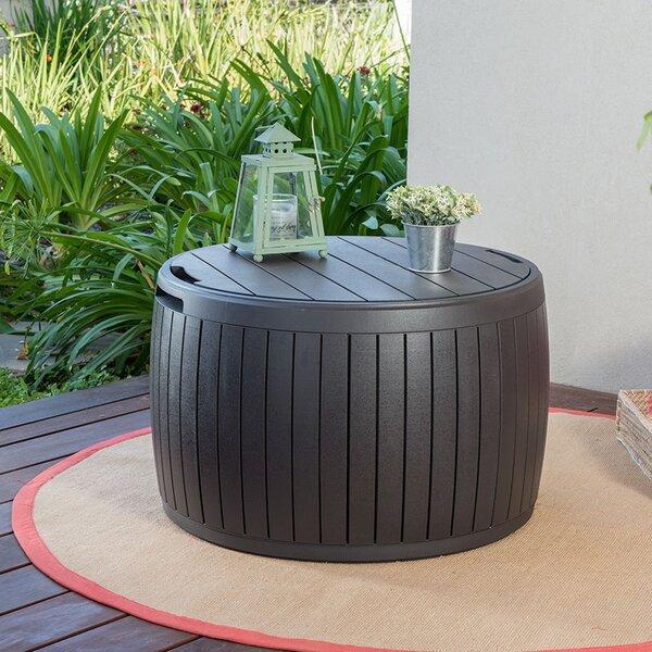 Lisette 37 Gallon Resin Deck Box By Keter