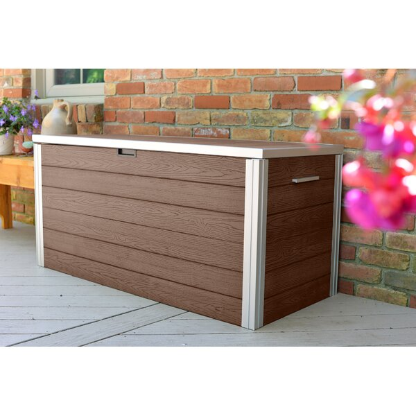 Urbana 87 Gallon Plastic Deck Box by New England Arbors New England Arbors